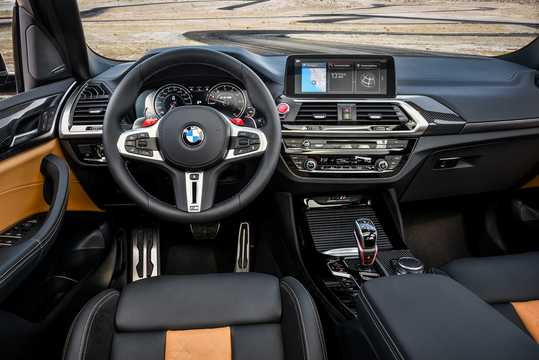 Interior of BMW X3 M Competition  Steptronic, 510hp, 2019