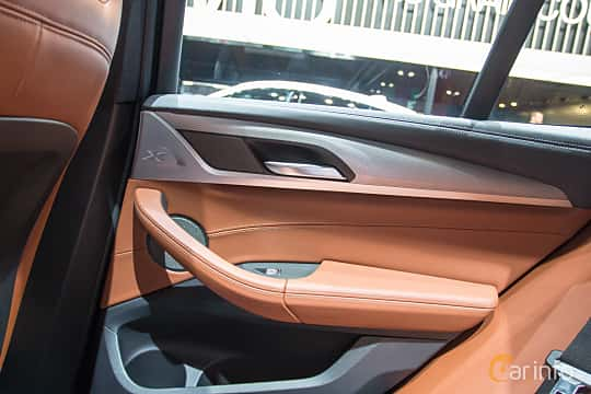 Interior of BMW X3 M40i  Steptronic, 360ps, 2018 at Geneva Motor Show 2018