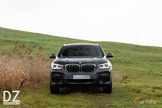 Front of BMW X4 xDrive25d Steptronic, 231ps, 2019