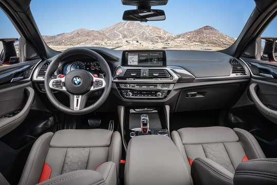 Interior of BMW X4 M Competition  Steptronic, 510hp, 2019