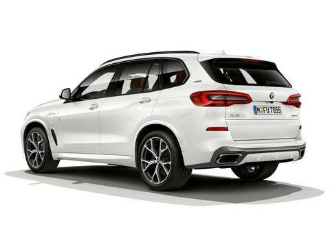 Back/Side of BMW X5 xDrive45e iPerformance  Steptronic, 394hp, 2019