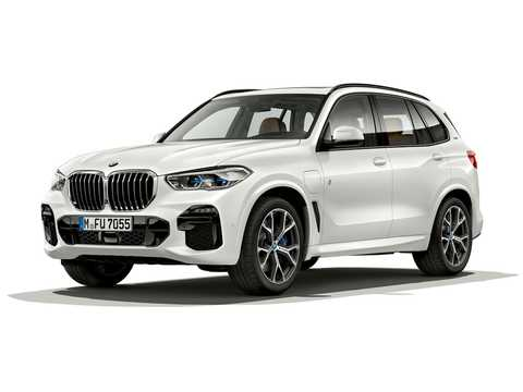 Front/Side  of BMW X5 xDrive45e iPerformance  Steptronic, 394hp, 2019