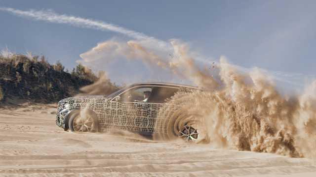 Side  of BMW X5 G05