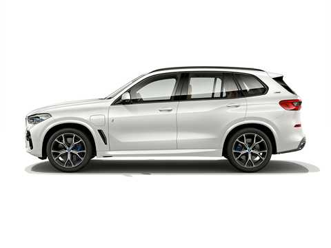 Side  of BMW X5 xDrive45e iPerformance  Steptronic, 394hp, 2019