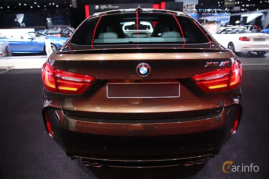 Bak av BMW X6 M 4.4 xDrive Steptronic, 575ps, 2017 på North American International Auto Show 2017