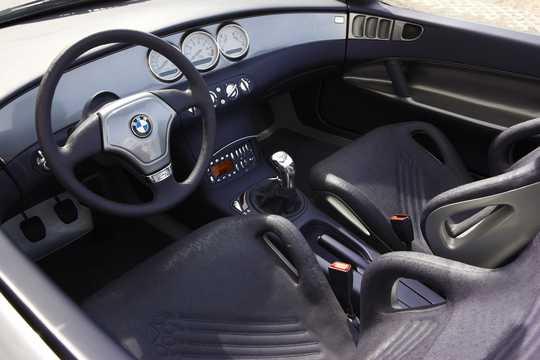 Interior of BMW Z18 4.4 4WD Manual, 353hp, 1995