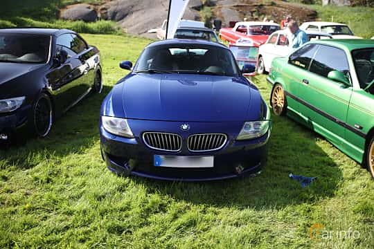 Front  of BMW Z4 M Coupé 3.2 Manual, 343ps, 2007 at Tjolöholm Classic Motor 2018