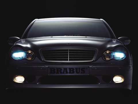 Front  of Brabus C 3.8 S  Automatic, 305hp, 2000