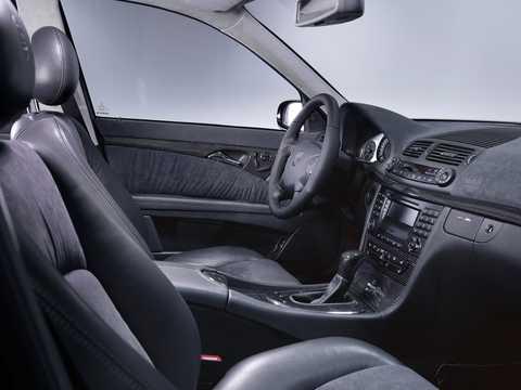 Interior of Brabus E 640 V12  5G-Tronic, 649hp, 2002