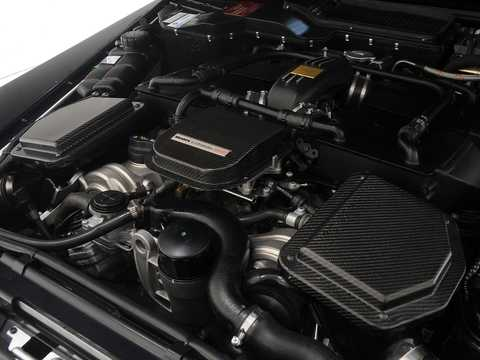 Engine compartment  of Brabus G 800  AMG SpeedShift Plus 7G-Tronic, 811hp, 2011