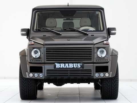 Front  of Brabus G 800  AMG SpeedShift Plus 7G-Tronic, 811hp, 2011