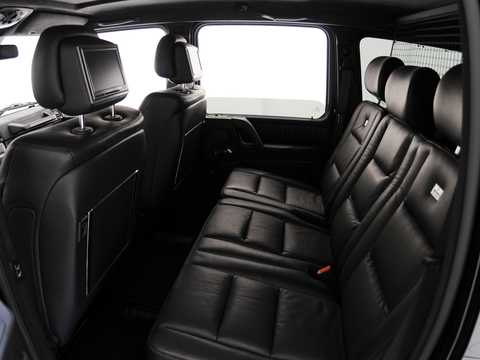 Interior of Brabus G 800  AMG SpeedShift Plus 7G-Tronic, 811hp, 2011