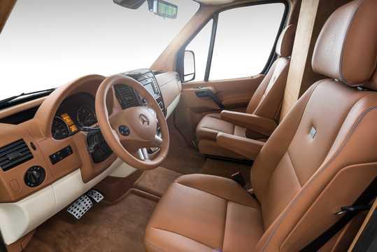 Interior of Brabus Sprinter MiniBus 906 Update