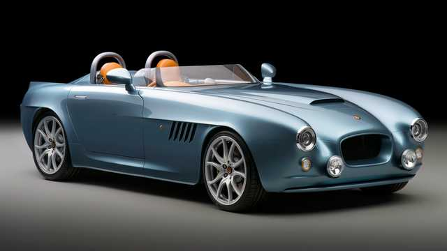Front/Side  of Bristol Bullet 4.8 V8 375hp, 2016