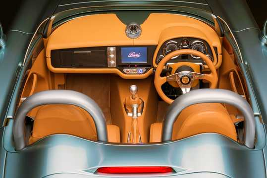 Interior of Bristol Bullet 4.8 V8 375hp, 2016