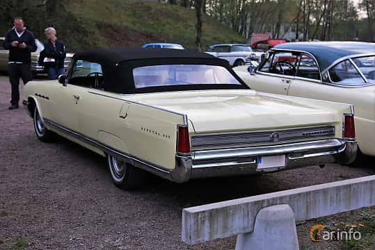 Back/Side of Buick Electra 225 Convertible 7.0 V8 Automatic, 345ps, 1964 at Kungälvs Kulturhistoriska Fordonsvänner  2018 v.35