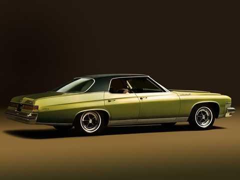 Back/Side of Buick LeSabre Hardtop Sedan 1974