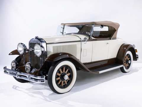 Front/Side  of Buick Model 44 Sport Roadster 4.2 Manual, 82hp, 1930