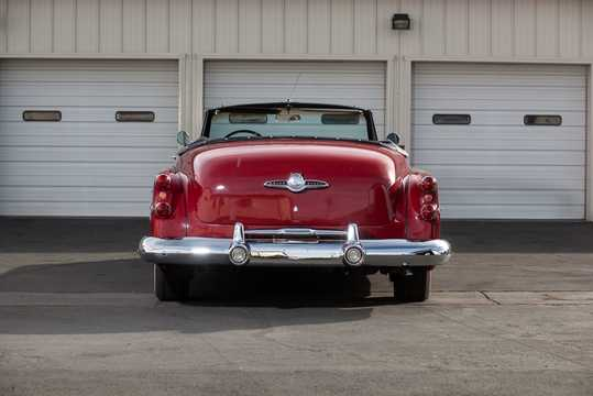 Back of Buick Super Convertible 5.3 V8 Automatic, 172hp, 1953
