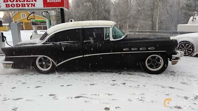 Sida av Buick Super Sedan 5.3 V8 Automatic, 258ps, 1956