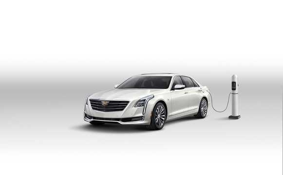 Front/Side  of Cadillac CT6 2.0 PHEV Hydra-Matic, 340hp, 2017