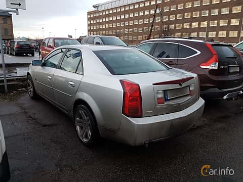 Back/Side of Cadillac CTS 3.6 V6 Automatic, 257ps, 2005