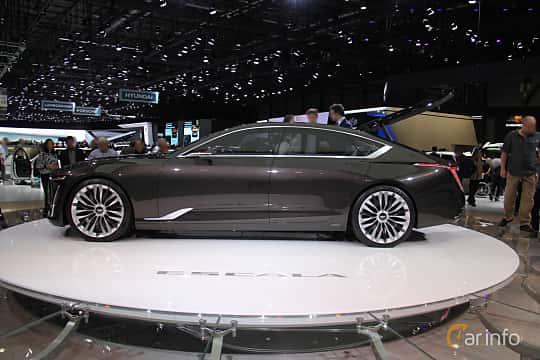 Sida av Cadillac Escala Concept Concept, 2016