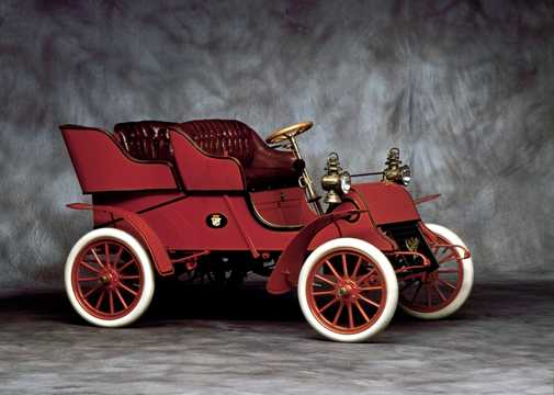 Front/Side  of Cadillac Model A 1903