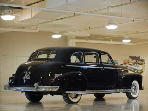 Back/Side of Cadillac Fleetwood Seventy-Five Limousine 5.7 V8 Hydra-Matic, 152hp, 1947