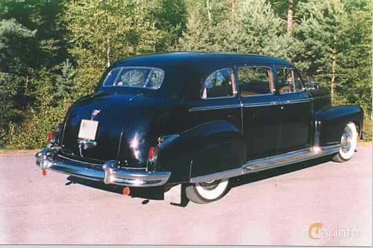 Back/Side of Cadillac Fleetwood Seventy-Five Sedan 5.7 V8 Hydra-Matic, 152ps, 1948