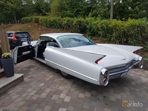 Bak/Sida av Cadillac Sixty-Two Coupé 6.4 V8 OHV Hydra-Matic, 330ps, 1960