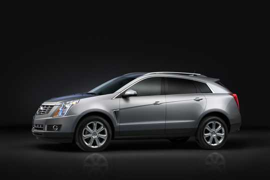 Front/Side  of Cadillac SRX 2015