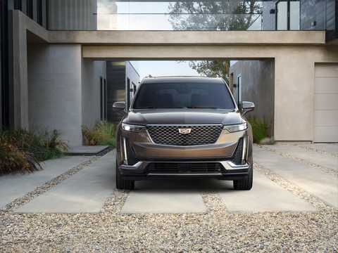 Front  of Cadillac XT6 3.6 V6 AWD Automatic, 311hp, 2020