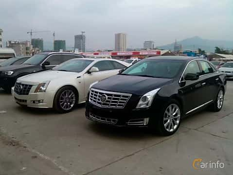 Front/Side  of Cadillac XTS 2013