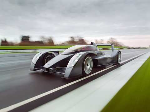 Front/Side  of Caparo T1 Race Extreme 3.5 V8 Sequential, 629hp, 2009