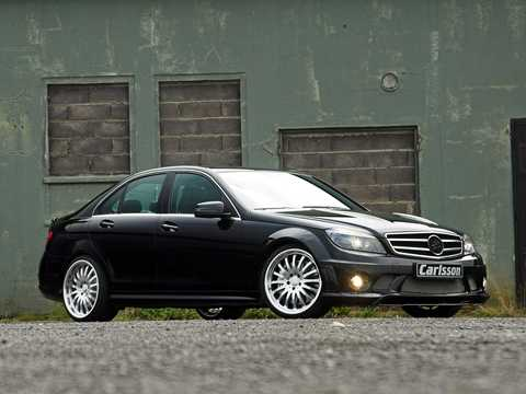 Front/Side  of Carlsson CK 63 S 6.3 V8 7G-Tronic, 573hp, 2008