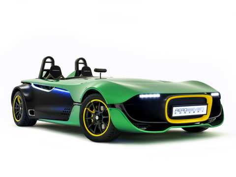 Front/Side  of Caterham AeroSeven 2.0 Manual, 241hp, 2013