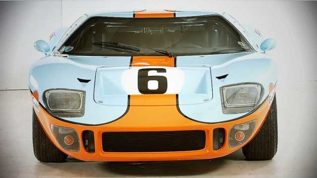 Front  of CAV GT 2000