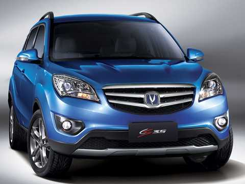 Front/Side  of Changan CS35 1.6 DVVT Automatic, 124hp, 2016