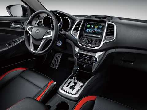 Interior of Changan CS35 1.6 DVVT Automatic, 124hp, 2016