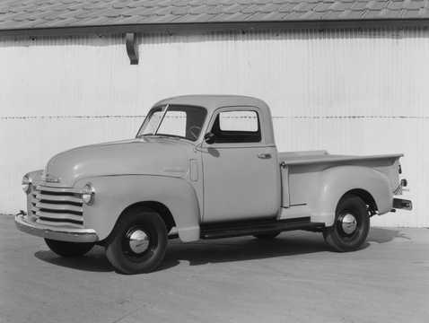 Front/Side  of Chevrolet Advance Design 3000 1948