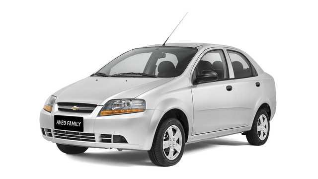 Chevrolet Aveo 15 E Tec T200