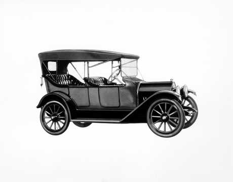 Front/Side  of Chevrolet Model H-4 Baby Grand 2.8 Manual, 24hp, 1914