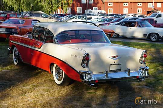 Back/Side of Chevrolet Bel Air Sport Coupé 3.9 Powerglide, 142ps, 1956 at Onsdagsträffar på Gammlia Umeå 2019 vecka 30