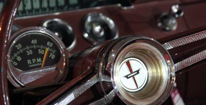 Interiör av Chevrolet Bel Air Sport Coupé 6.7 V8 Manuell, 415hk, 1962