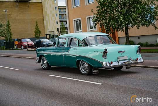 Back/Side of Chevrolet Bel Air 4-door Sedan 3.9 Powerglide, 142ps, 1956 at Riksettanrallyt 2019 Skillingaryd