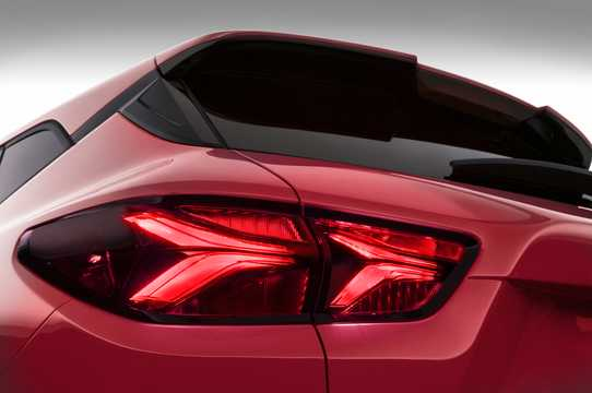 Close-up of Chevrolet Blazer 3.6 V6 AWD Hydra-Matic, 310hp, 2019