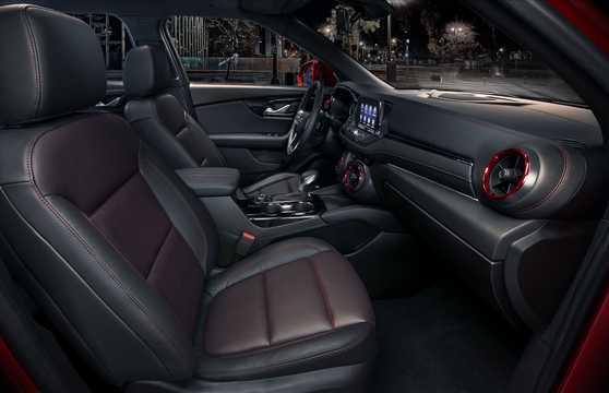 Interior of Chevrolet Blazer 3.6 V6 AWD Hydra-Matic, 310hp, 2019