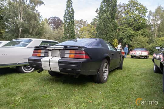 Back/Side of Chevrolet Camaro 5.0 V8 Automatic, 147ps, 1982 at Billesholms Veteranbilsträff 2019 augusti
