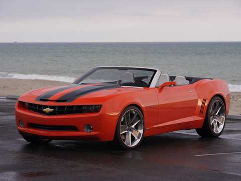Front/Side  of Chevrolet Camaro Convertible Concept Concept, 2007